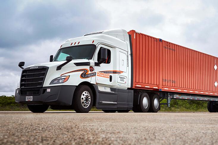 Schneider Intermodal Regional Truck Driving Jobs