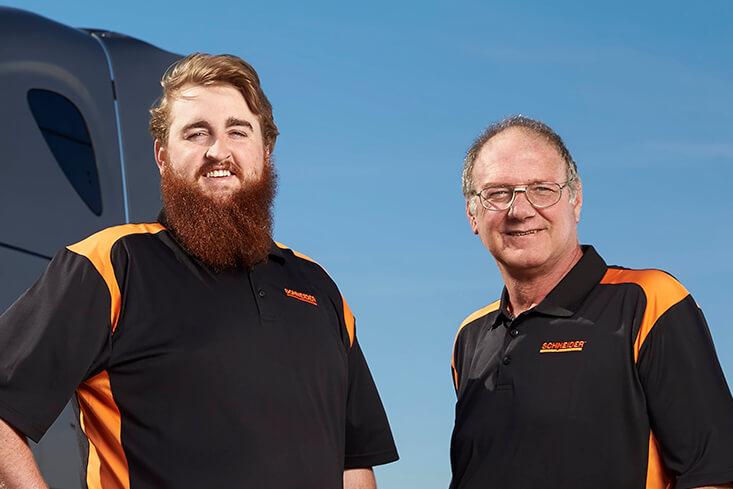 Schneider Team LTL Truck Drivers