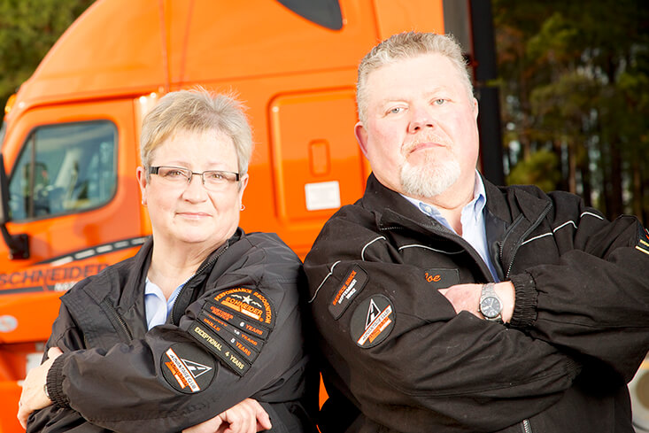 Schneider Team OTR Truck Driving Jobs