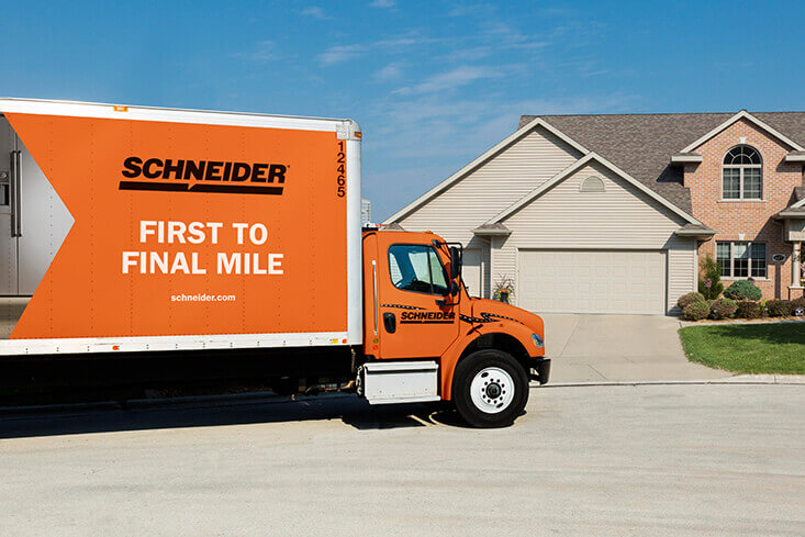 Schneider Straight Truck Driving Jobs