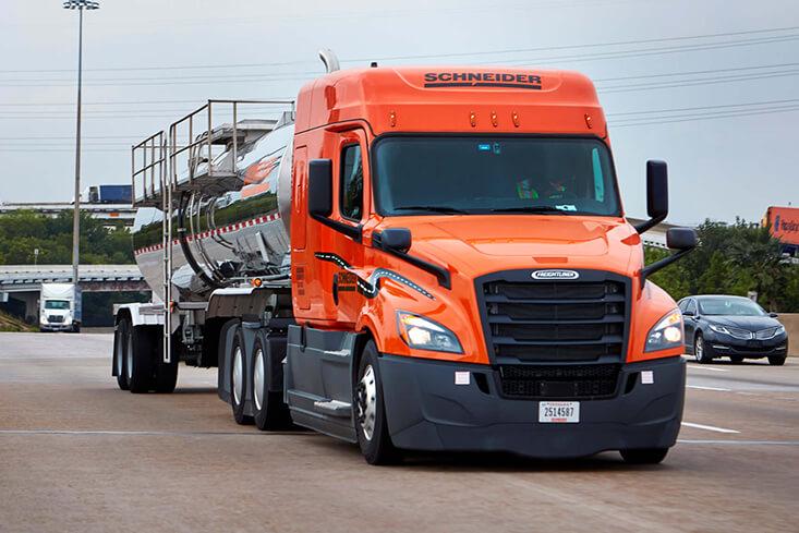 Schneider Tanker OTR Truck Driving Jobs