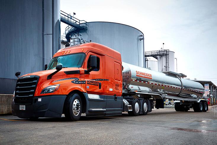 Schneider Regional Tanker Truck Driving Jobs