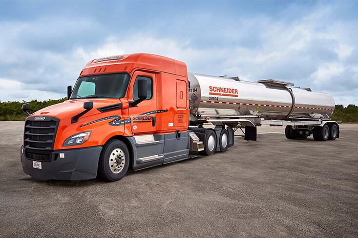 Schneider Team Tanker Truck Driving Jobs