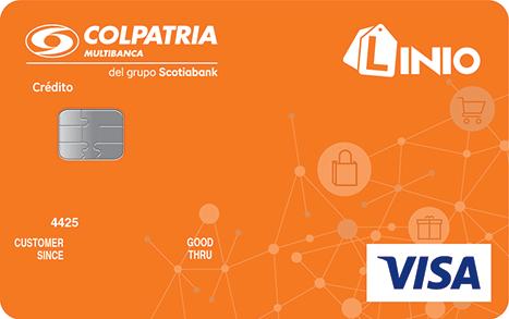 tarjeta de credito linio colpatria