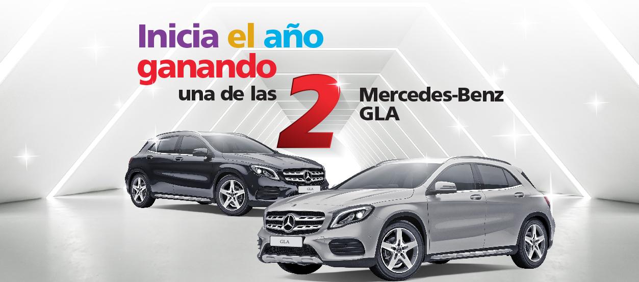Utiliza nuestros productos y gana una Mercedes-Benz GLA