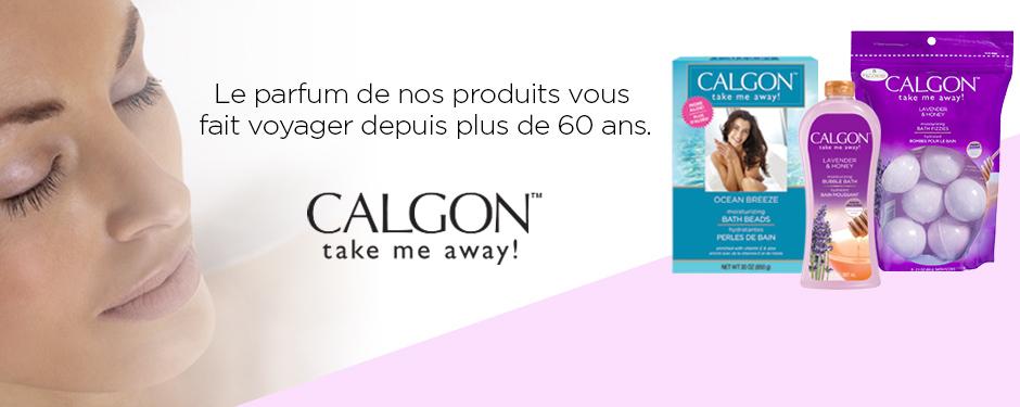 Le parfum de nos produits vous fait voyager depuis plus de 60 ans. CALGON™ take me away!