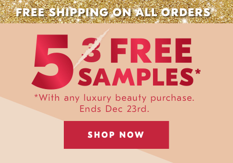 Free Shipping Enjoy free shipping until Dec 23 on all orders. Shop now>