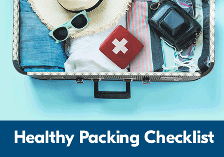 Healthy Packing Checklist