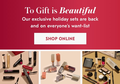 Our exclusive holiday sets are back and on everyone's want-list. SHOP ONLINE