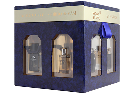 Fragrance Mini Coffret & Certificate for Him