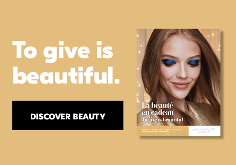 To give is beautiful. Discover Beauty.