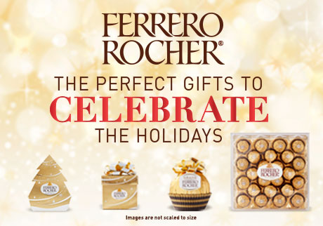 Ferrero Rocher   The perfect gifts to celebrate the holidays