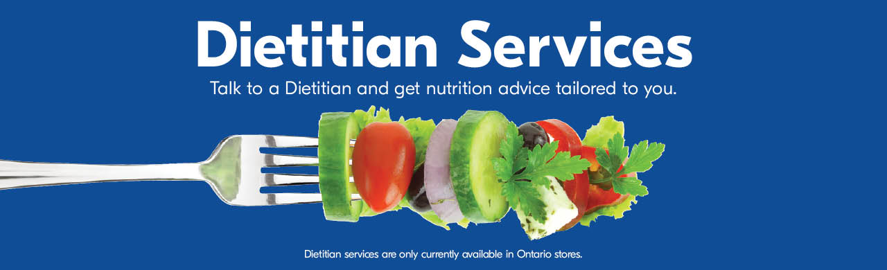 Dietitian Services. Talk to a Dietitian and get nutrition advice tailored to you.