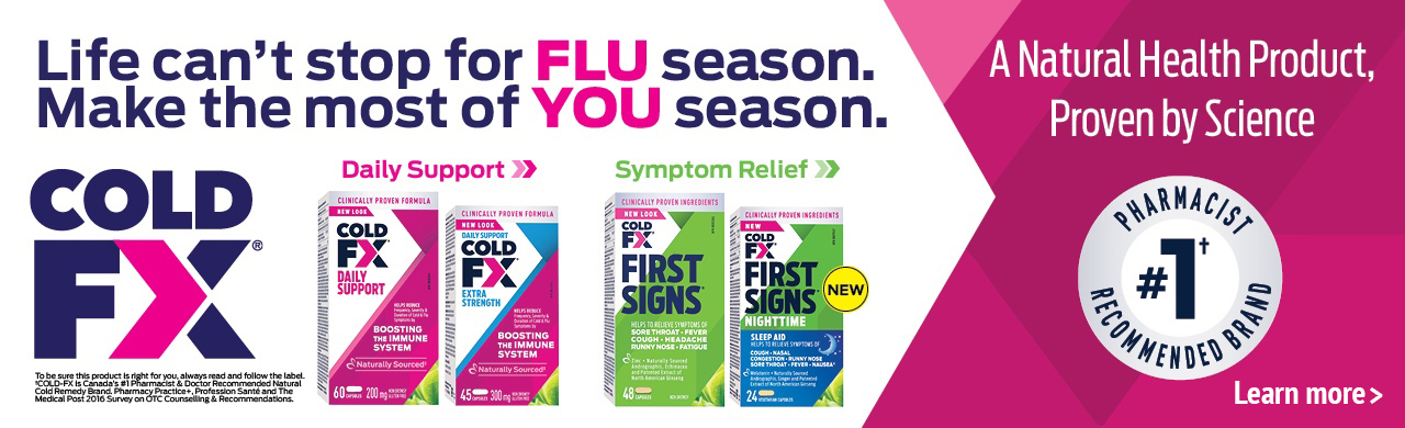Daily Support & Symptom Relief Life can't stop for FLU season. Make the most of YOU season.