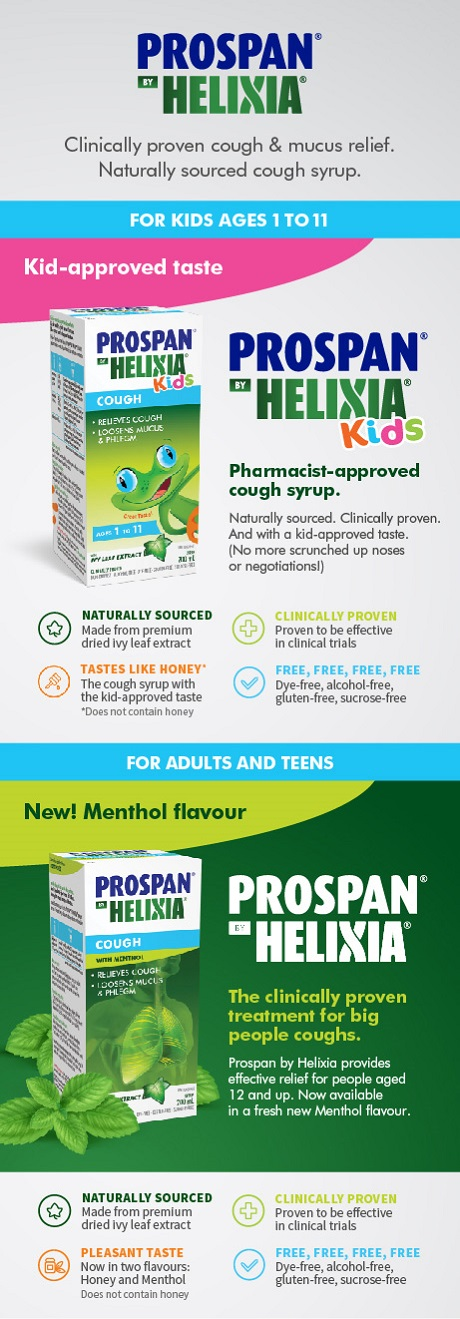 January 26 – February 22, 2019: Get 10x the PC Optimum points* when you buy any Rhinaris® or Prospan® by Helixia® participating products.
