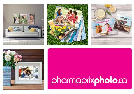 Transformez vos photos en impressions et cadeaux de haute qualité. Livraison gratuite pour les commandes ramassées en magasin