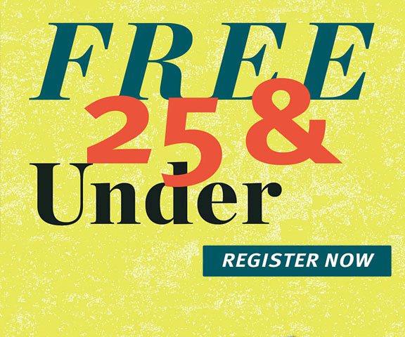 FREE 25 & UNDER