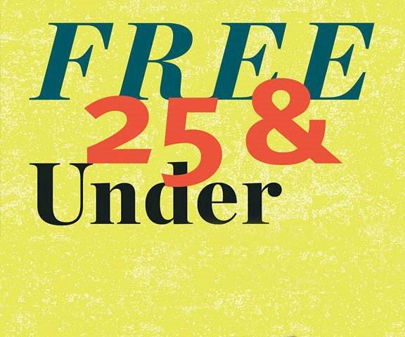 FREE 25 & UNDER PROGRAM