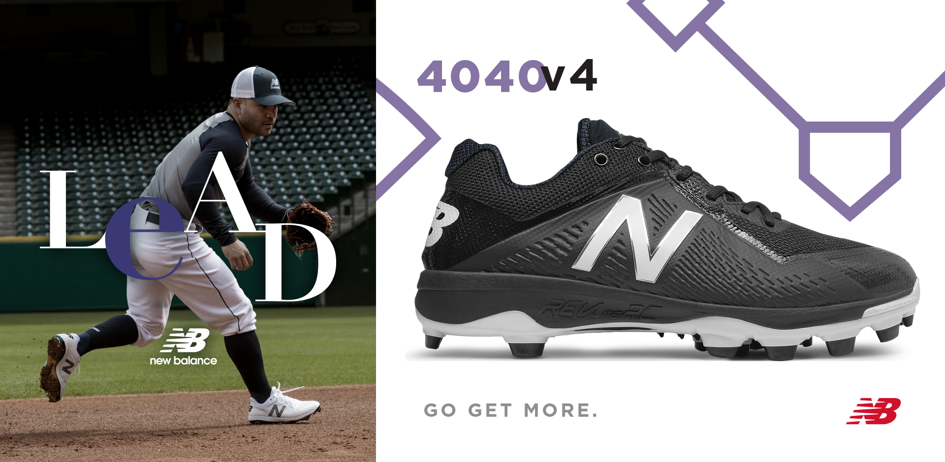 Shop Our Wide Selection of the New Balance 4040v4 Baseball Cleats Available For Sale at your local Source For Sports Baseball store.