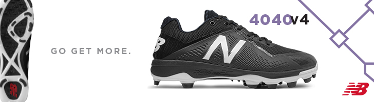 Find the New Balance 4040v4 baseball cleats available for sale at Source For Sports baseball stores.
