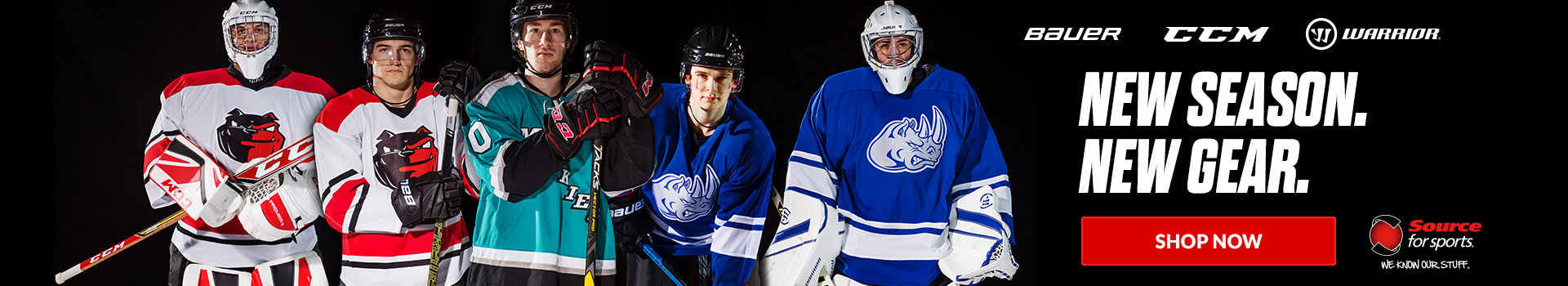 Shop our selection of New hockey gear available for sale today at your local Source For Sports near you.