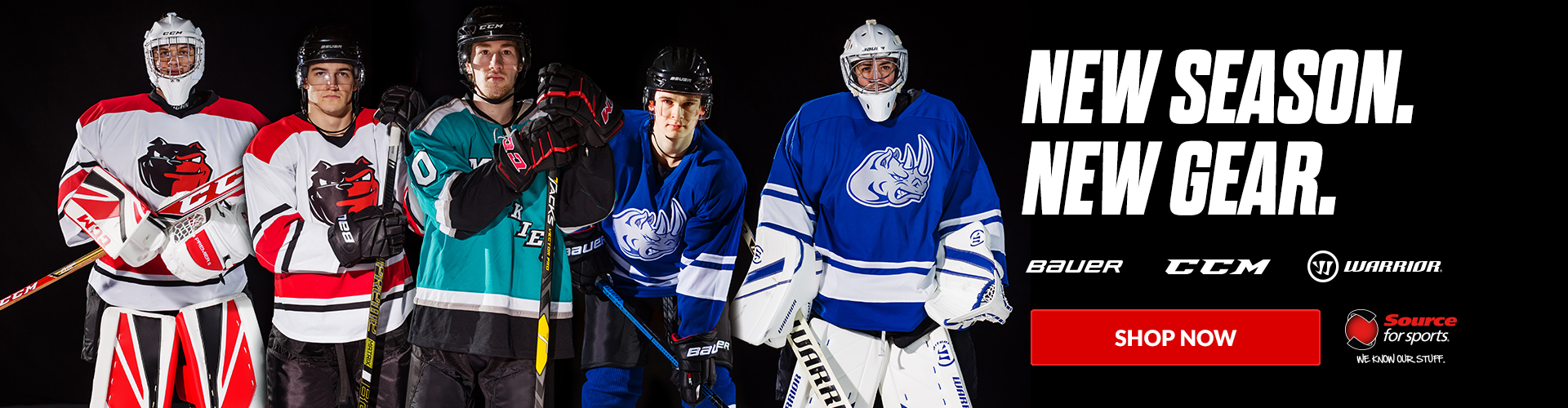 Shop the newest selection of Hockey Gear available for sale at Source For Sports.