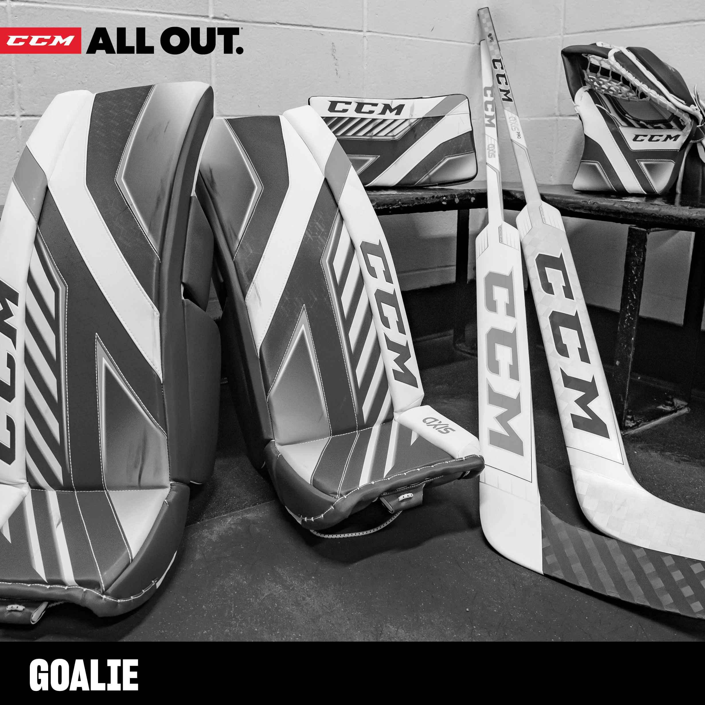 CCM Hockey Goalie Gear