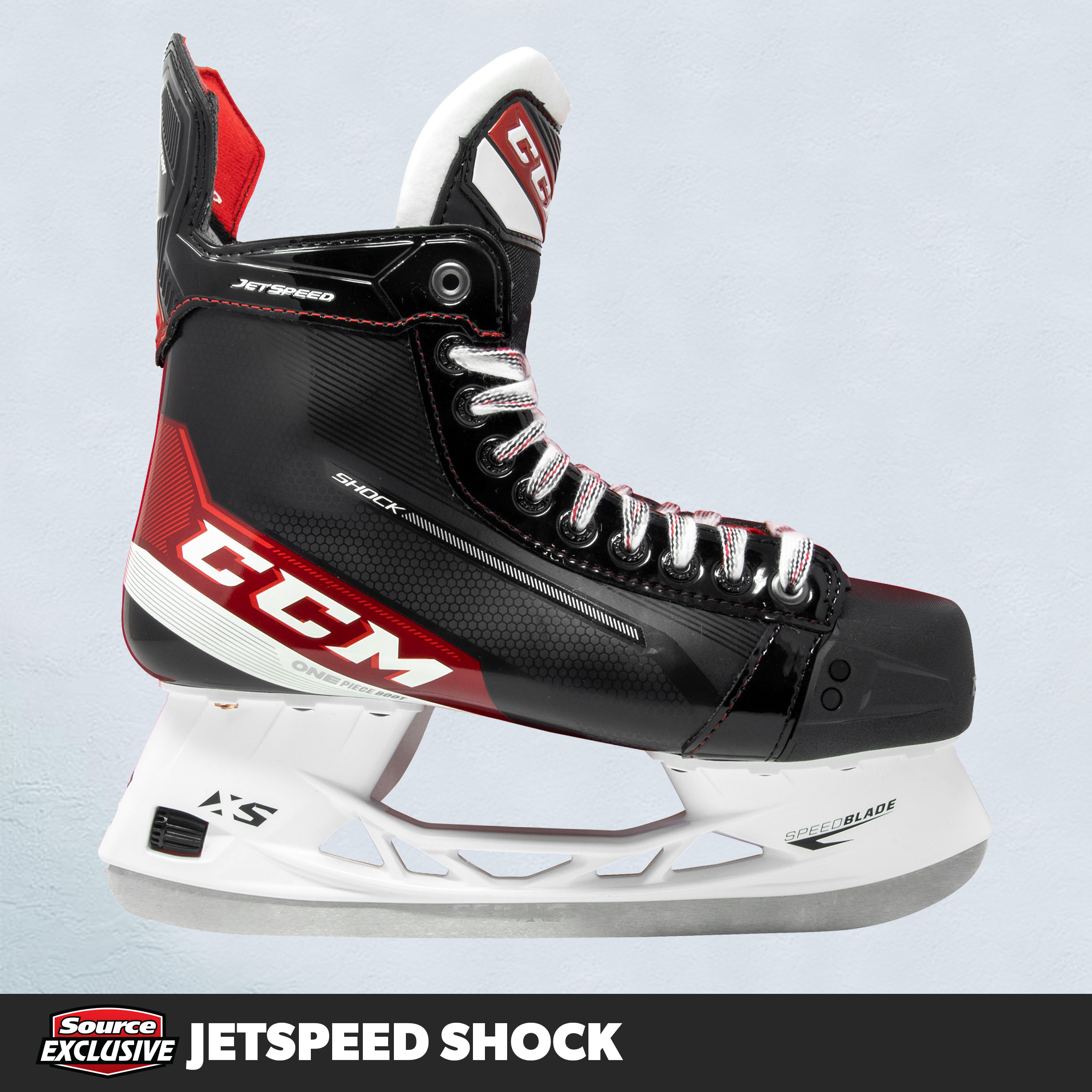 Shop The CCM JetSpeed Shock Hockey Skates Only At Source For Sports.