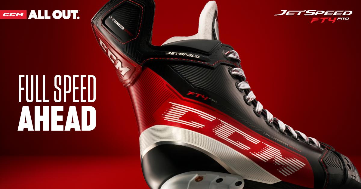 Shop The CCM JetSpeed FT4 Pro & Other Super Tacks Elite Skates At Source For Sports.