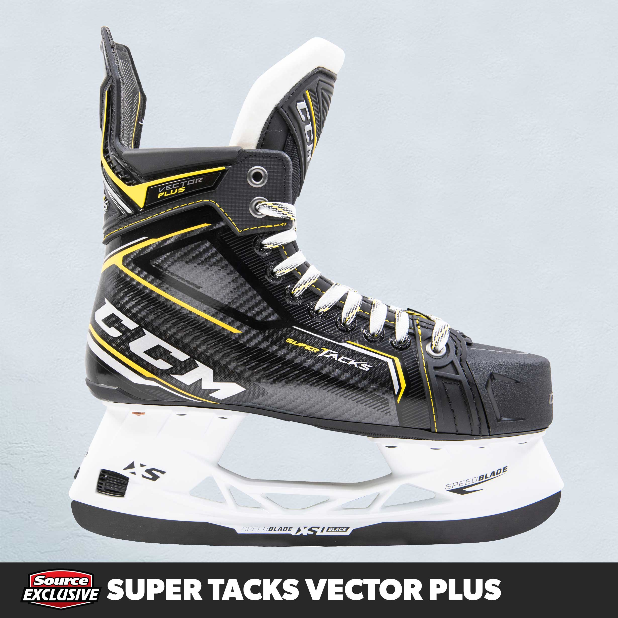 Shop The CCM Super Tacks Vector Plus Hockey Skates Only At Source For Sports.