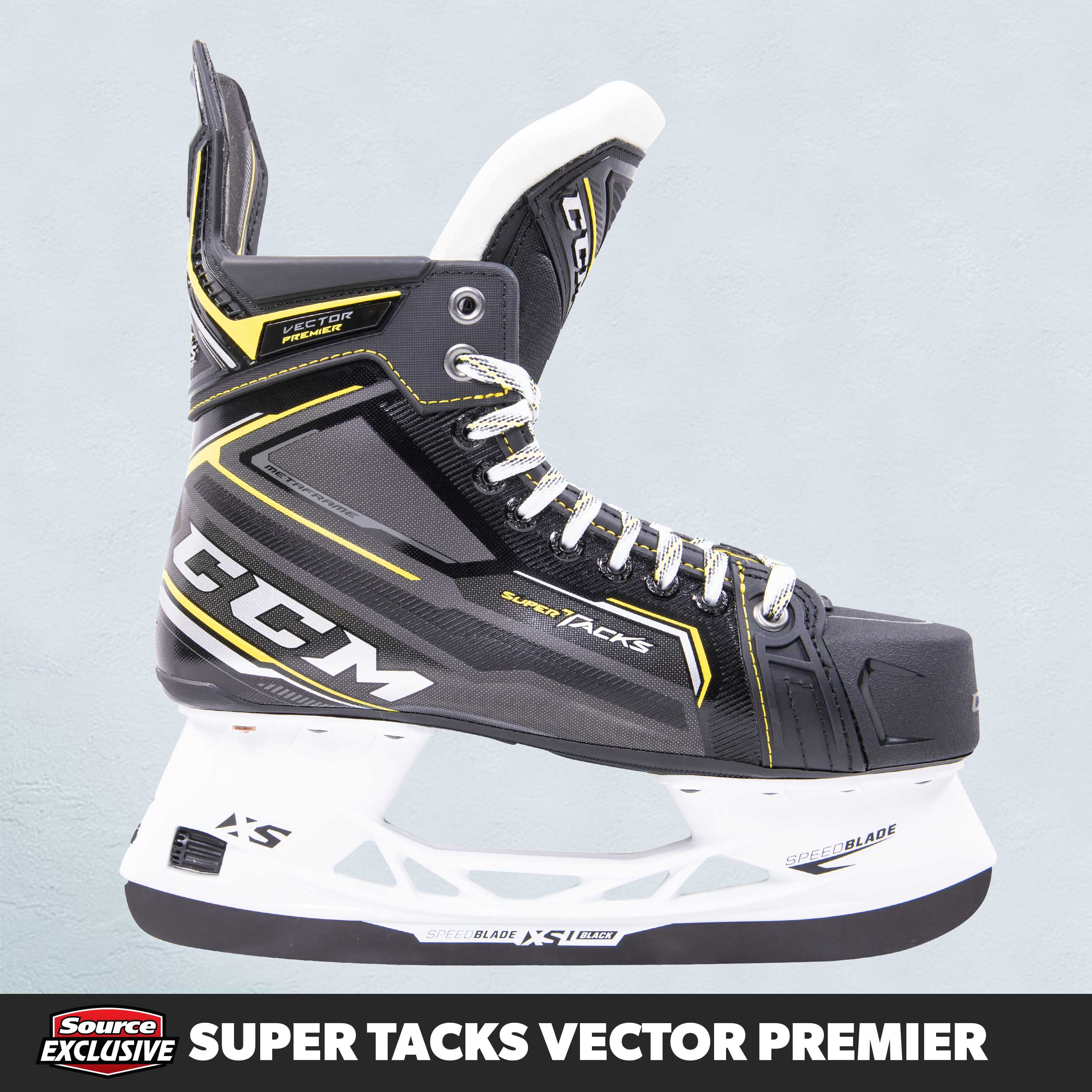 Shop The CCM Super Tacks Vector Premier Hockey Skates Only At Source For Sports.