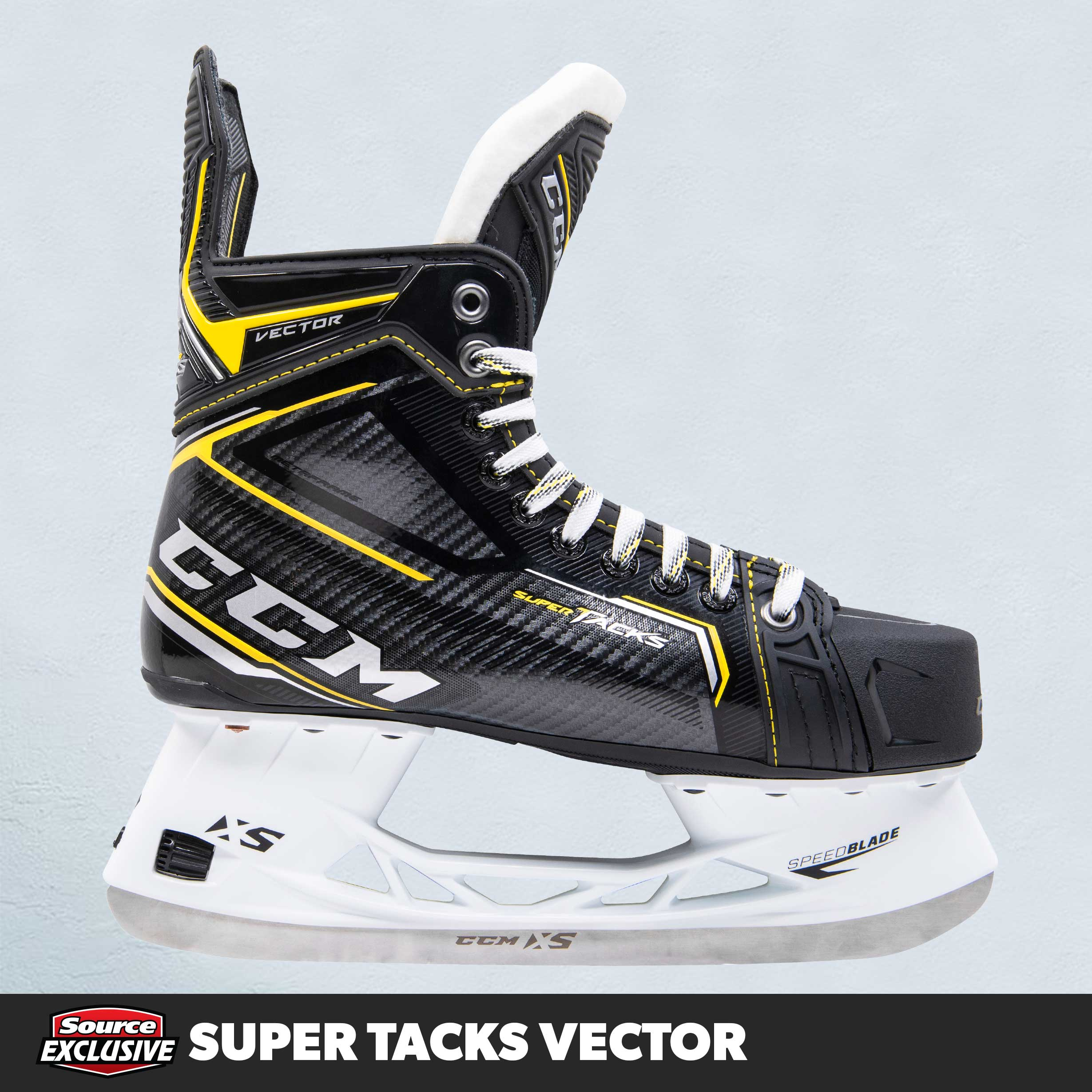 Shop The CCM Super Tacks Vector Hockey Skates Only At Source For Sports.