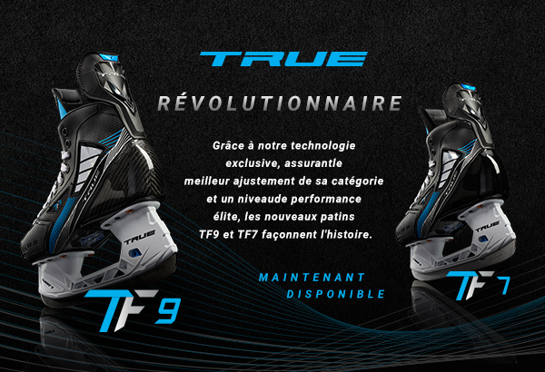 Shop the all-new TRUE Hockey TF7 and TF9 hockey skates available for sale in store and online at a Source for Sports store near you. We Fit Your Game At Source For Sports.