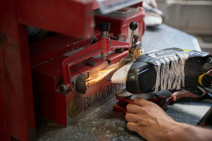 Precision Balance Skate Sharpening | Source For Sports