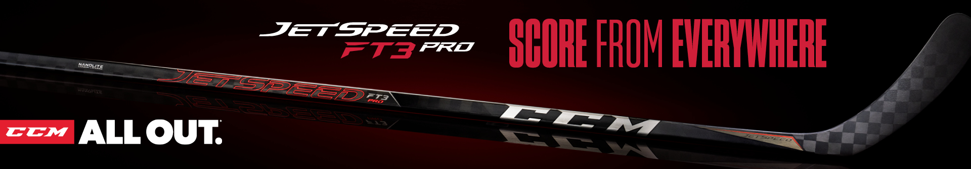 Shop The CCM JetSpeed FT3 Pro Hockey Stick & Other JetSpeed Sticks Available For Sale In Store & Online At Your Local Source For Sports Store Near You.