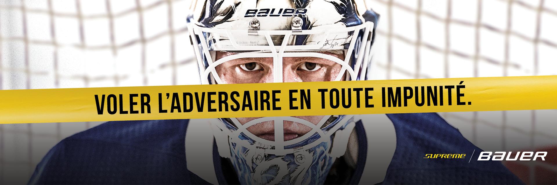 d'équipement de gardien de Bauer Supreme 2s but commence maintenant à La Source du Sport.