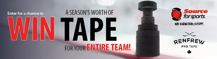 Enter For A Chance To Win Renfrew Pro Hockey Tape For The Season.