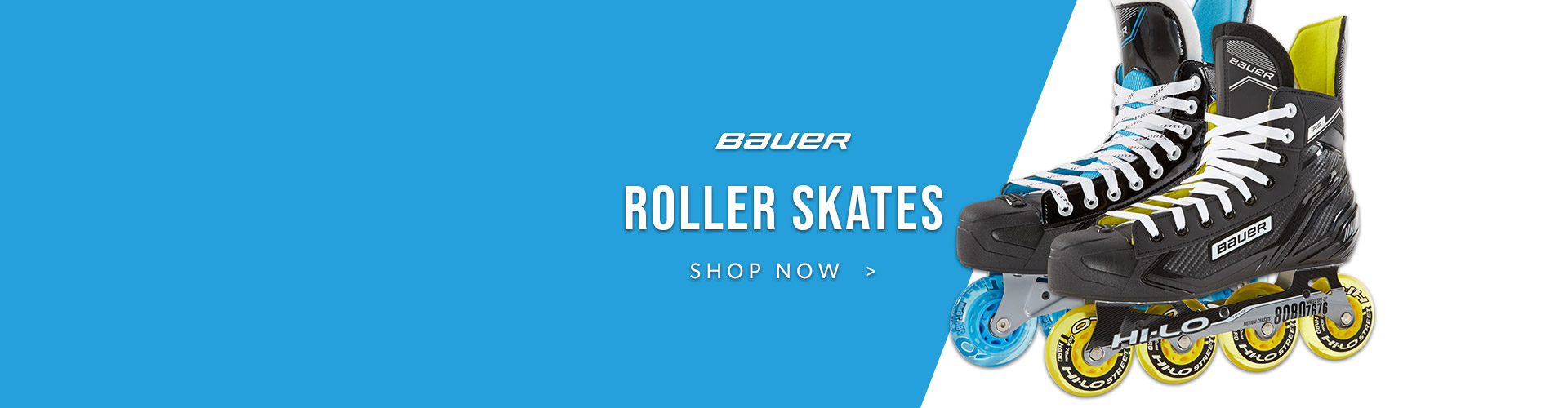 Train At Home Anytime With Roller Skates From Bauer, including the Bauer RS and RSX Roller Blades Available For Sale In Store & Online At Your Local Source For Sports Store Near You.