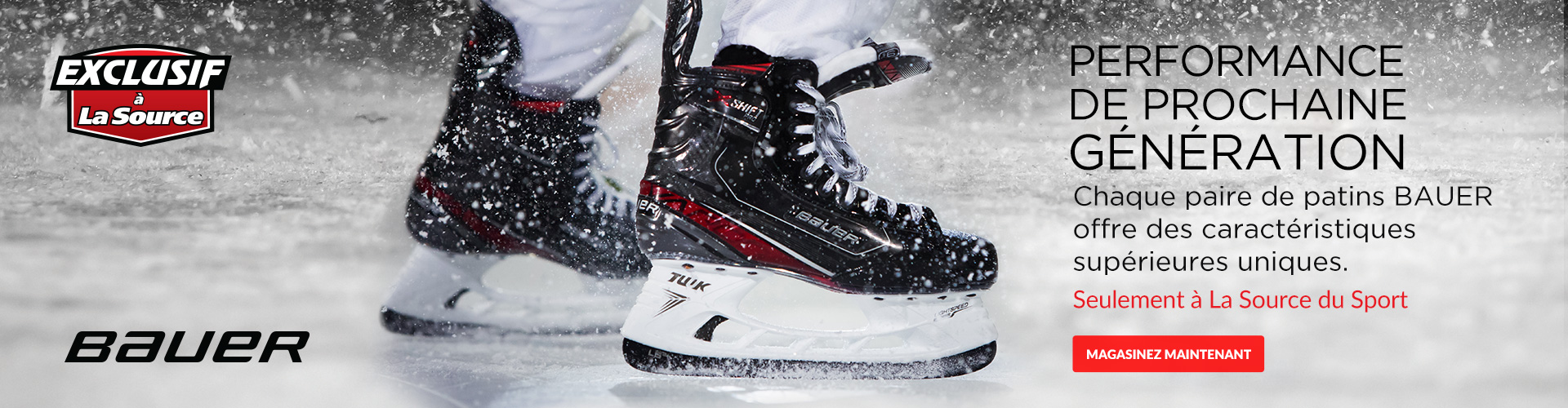 Shop The Bauer Vapor X:Shift Pro Hockey Skates For Sale In Store and Online At Participating Source For Sports Near You.