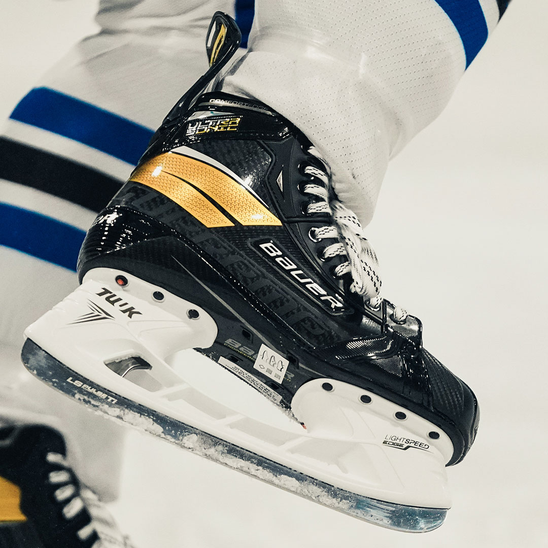 Shop The Bauer Supreme UltraSonic Hockey SkatesAvailable At Source For Sports.