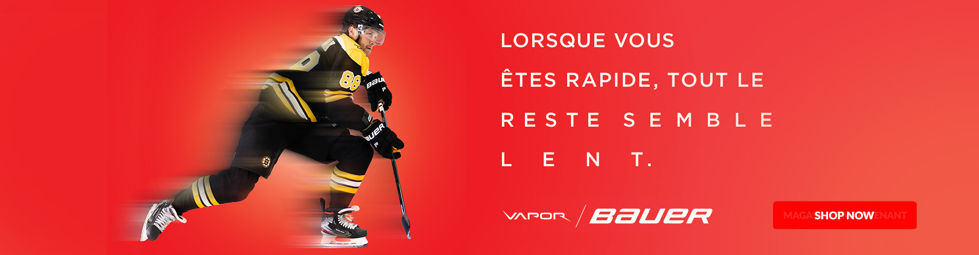 Shop The All-New Bauer Vapor Hockey Skates such as the Vapor 2X Pro, 2X, x2.9, X2.7, x2.5, X:Shift Pro, and X:Velocity For Sale In Store and Online At Your Local Source For Sports Near You.