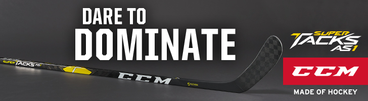 Check out the all-new CCM Super Tacks AS1 Hockey Stick available at Source For Sports.