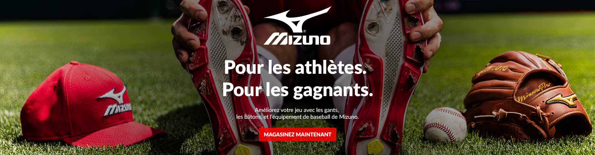 Shop our wide selection of Mizuno Baseball Gloves, Bats, & Equipment available for sale at your local Source For Sports baseball store.