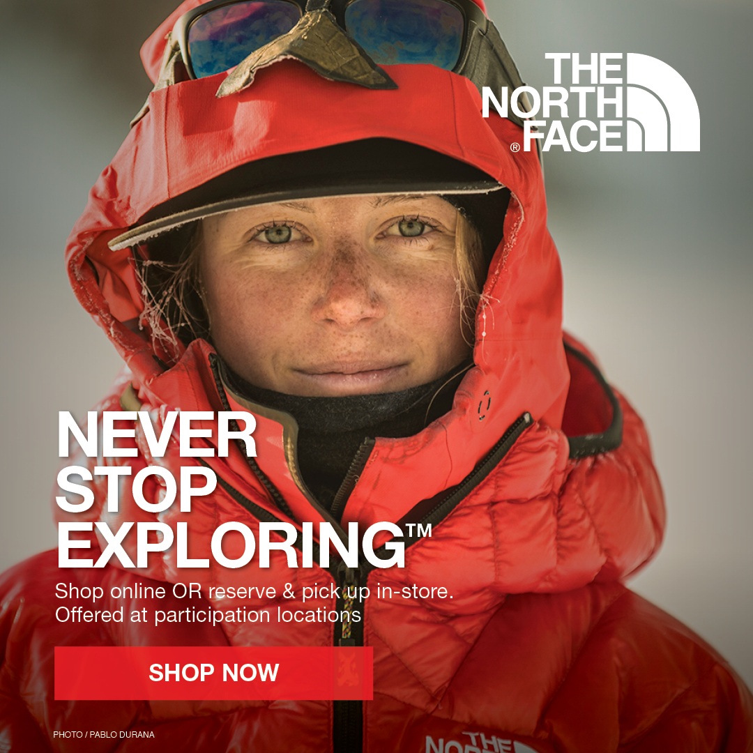 Shop The North Face Winter Jackets, Clothing, & Outerwear Available For Sale At Your Local Source For Sports Store.