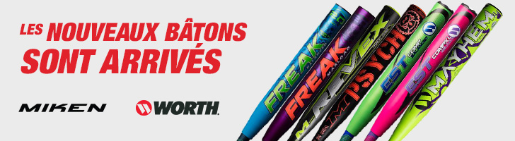 Shop the 2018 Miken & Worth slo-pitch bats are in-stock.