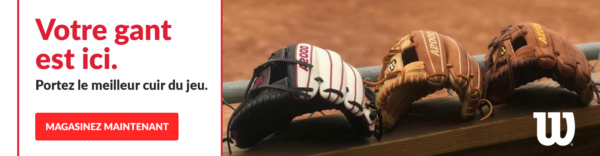 See all featured Wilson baseball gloves available at Source For Sports stores.
