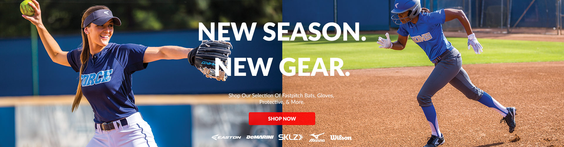 Shop our selection of Fastpitch Bats, Gloves, Protective, & More available for sale at your local Source For Sports baseball & softball stores today near you.