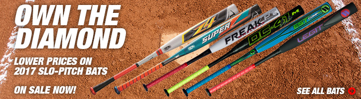 Softball & Slo-Pitch Bat Sale