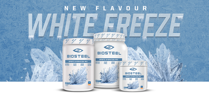 Shop Our Selection Of Biosteel Hydration Mix Called White Freeze Available For Sale In Store & Online At Source For Sports Store Near You.