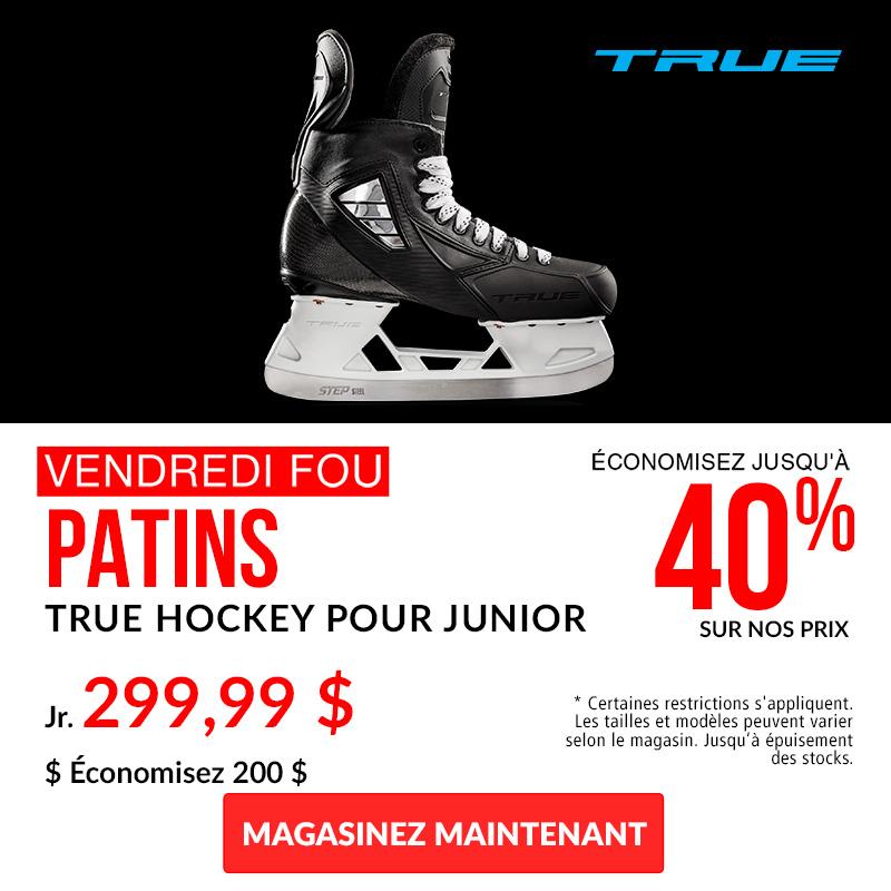 Save 40% Off TRUE Hockey Skates